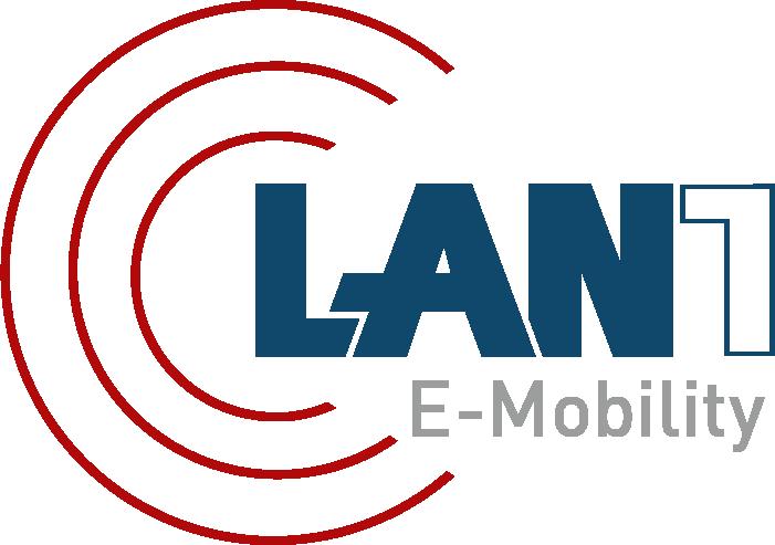 LAN1 E-Mobility Logo